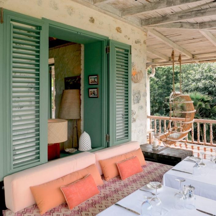 Tristan Auer, Restaurant, Hôtel The Cotton House, île Mustique, Caraïbes