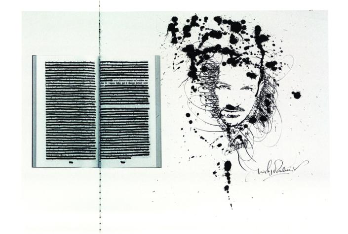 Nicolas Ouchenir, calligraphe